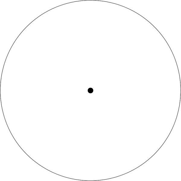 Red Dot Standard-Absehen (Schematisch)