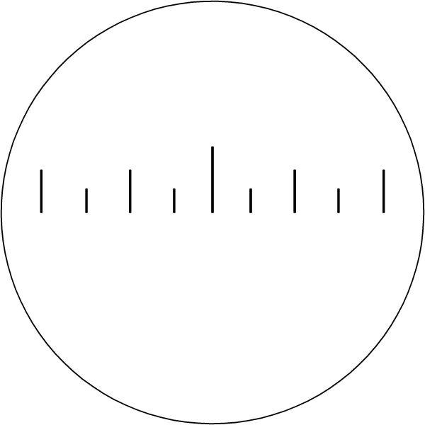 Fernglas Standard-Absehen