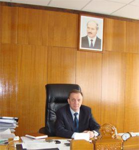 "Direktor des ""Rogachev Plant ""Diaproektor"", Vladimir Igorevich Yablokov"